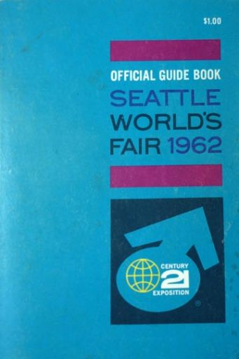 Official Guide Book Seattle World's Fair 1962